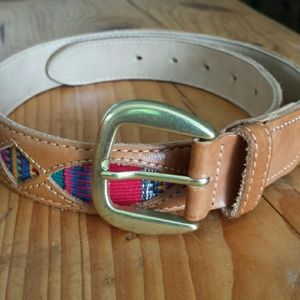 Accessories - Leather belt made in Guatemala